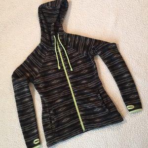 Billabong native print hooded zip